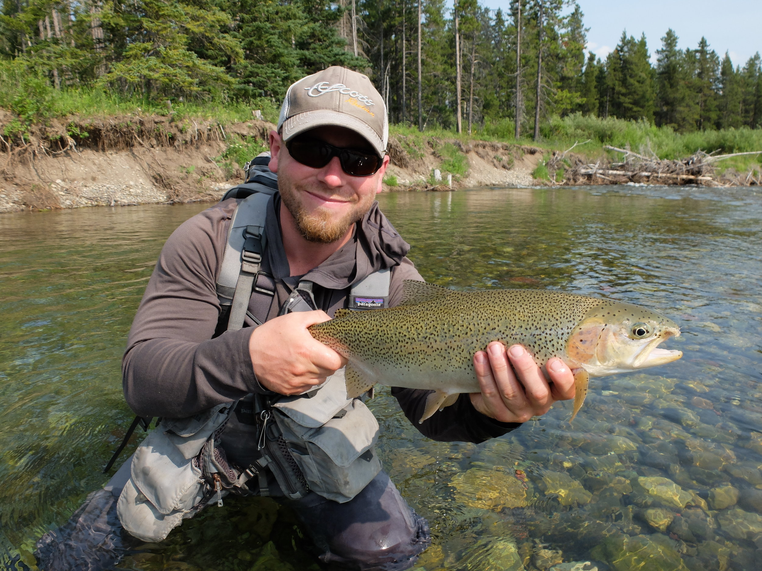 Paul Laframboise with a nice cutty:  https://www.ironbowflyshop.com/southern-alberta-walk-and-wade