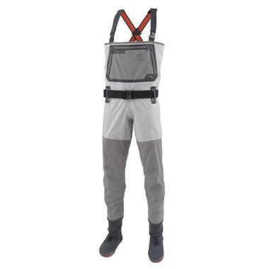 Simms G3 Waders:  https://ironbowflyshop.ca/products/simms-g3-guide-stockingfoot-waders-1