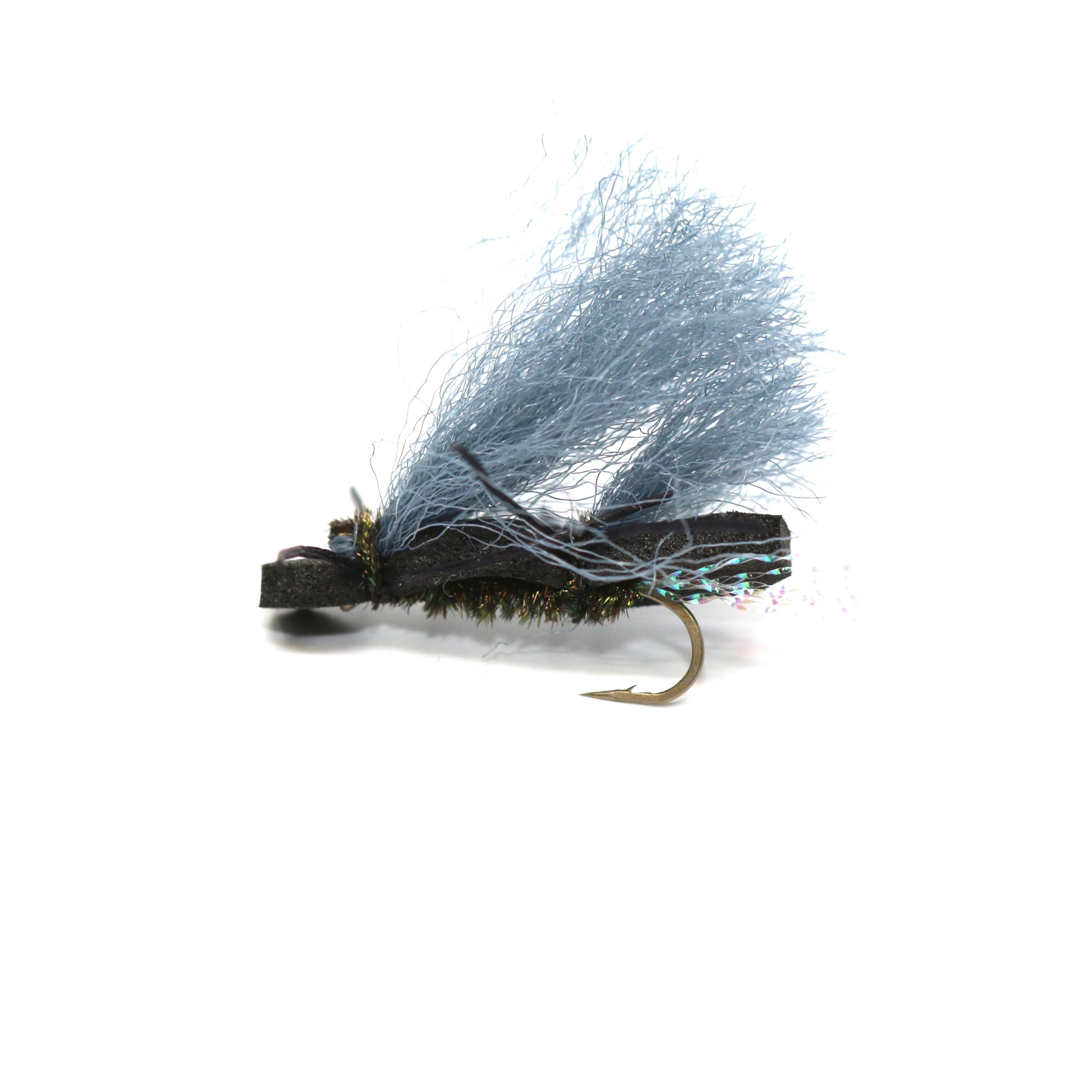 Chubby Chernobyl Grey Wing:  https://ironbowflyshop.ca/collections/flies/products/chubby-chernobyl-gray-wing