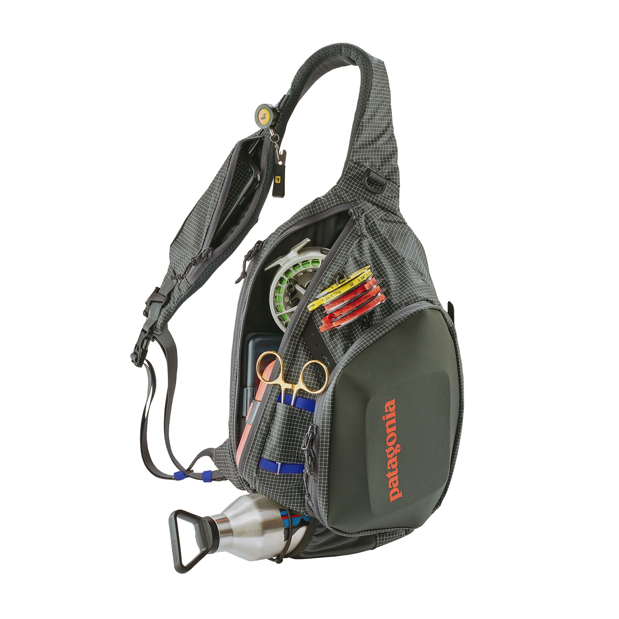 Patagonia Atom Sling Forge Grey:   https://ironbowflyshop.ca/products/patagonia-stealth-atom-sling-15l-1