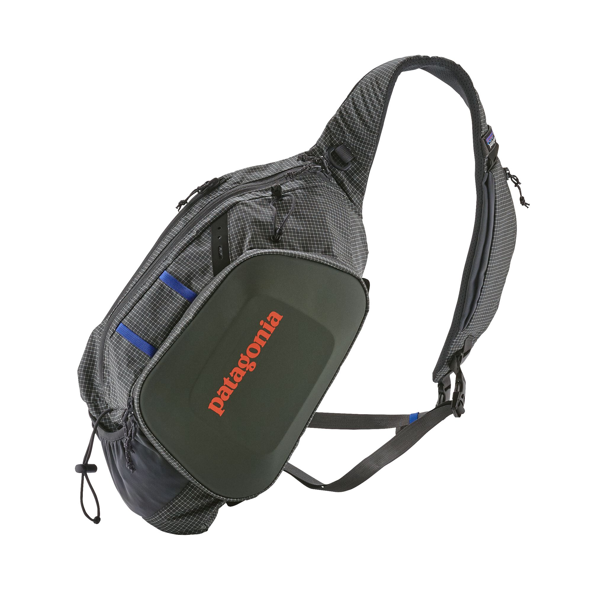 Patagonia Stealth Atom Sling 15L:  https://ironbowflyshop.ca/collections/luggage/products/patagonia-stealth-atom-sling-15l-1
