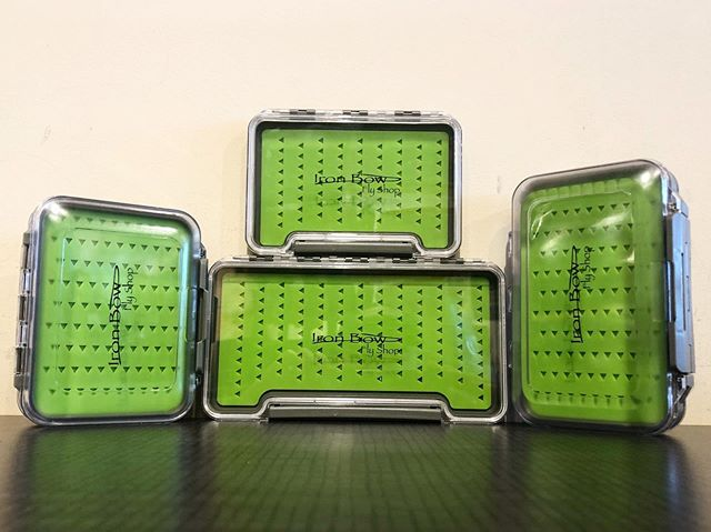 New Iron Bow Fly Shop Silicon Fly Boxes! Water proof and durable, we have a handful of different sizes! Swing by the shop and come check them out. #flyfishing #flyshop #trout #fishing #flybox #tacklebox #dryfly #nymph #bowriver #explore #alberta #flystorage #adventure #travel #troutcandy #streamerjunkie #supportyourlocalflyshop #stampede #outdoorgear