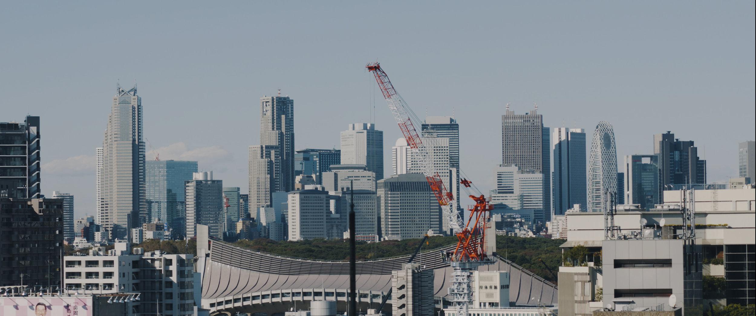 Copy of Tokyo Skyline