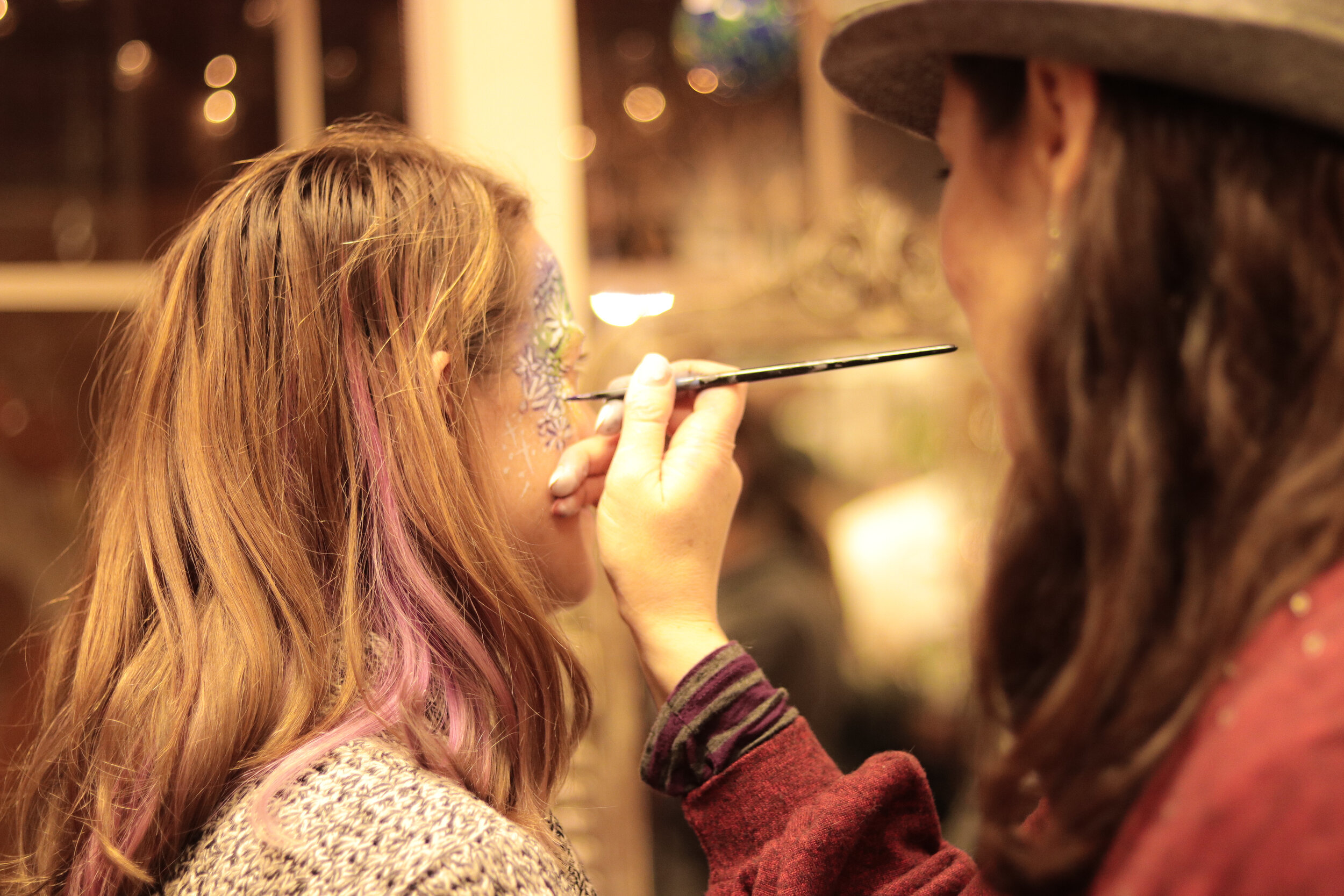 Face Painting at the 2018 New Orleans Street Party | Photo by 40 West Arts