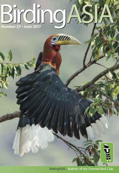 BirdingAsia 27 - Members will receive their copy automatically: non-members can order one online or purchase a digital copy