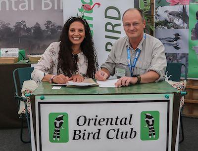 Signing of the OBC-BirdLife MoU