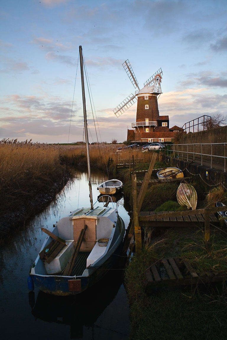 Cley Mill © Andrew Dunn / CC 2.0