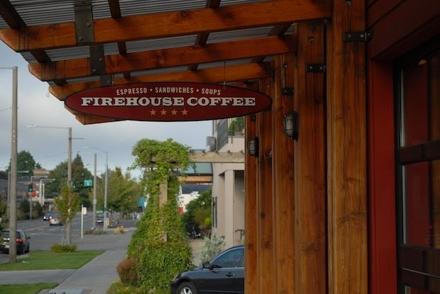 Firehouse Coffee - Firehouse has a playroom with lots of books and toys, plus a sliding door that separates the playroom from the main area, so kids can stay sight while you sip on your coffee and check your email. They have a wide range of snacks and food and a parking lot (bonus).Location: Ballard - 2622 NW Market St, Seattle, WA 98107Phone: 206.784.2911