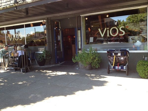 Vios Cafe - Founded by a single dad, Vios Cafe is a family-centric community business. They have a large kiddo corner where parents can enjoy adult time while keeping kids in sight. They serve up Illy coffee and delicious family-style Mediterranean options plus their servers are top notch offering patient and quick service.Location: Capital Hill - 903 19th Ave E, Seattle, WA 98112Phone: 206.329.3236