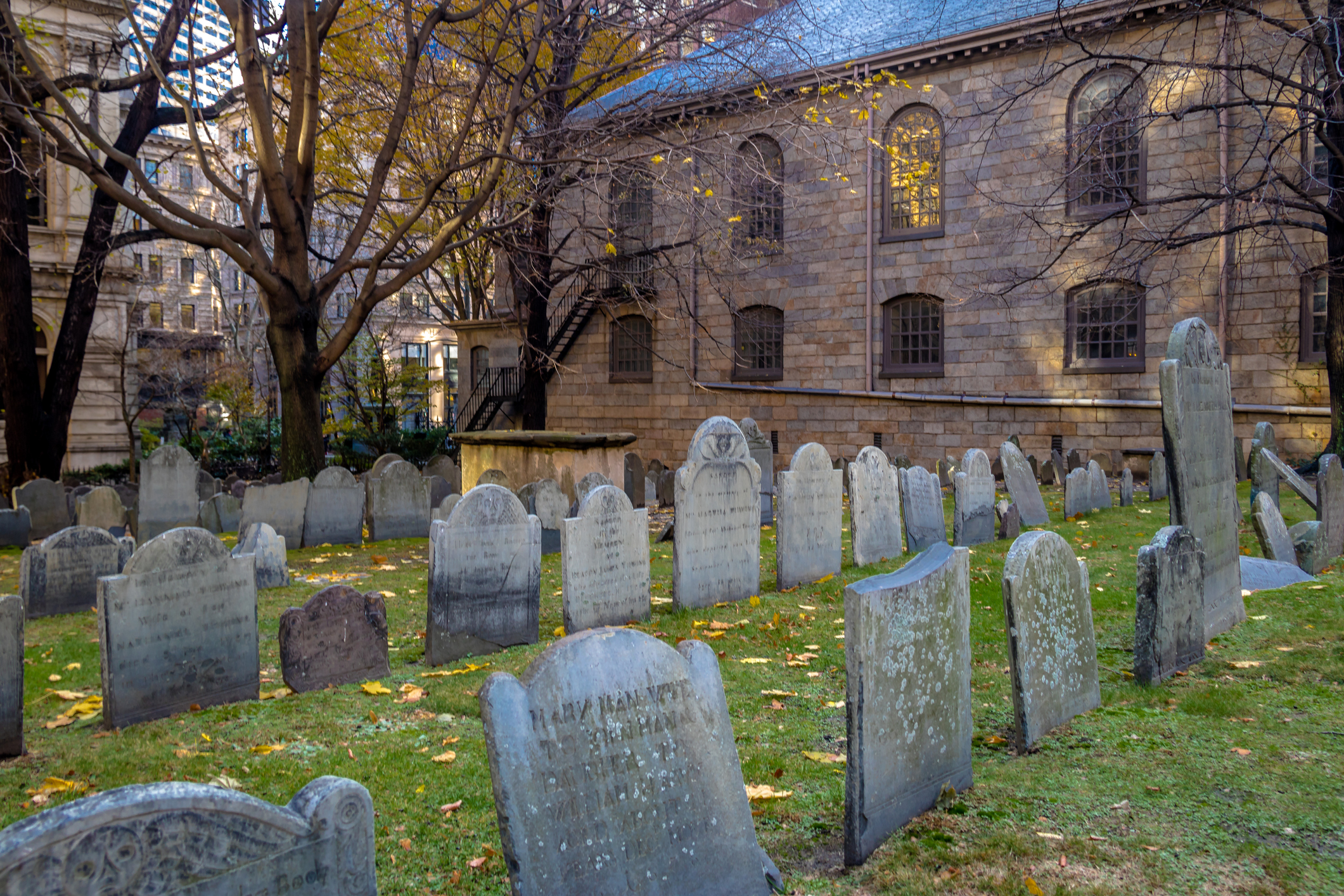 King's Chapel Burying Ground