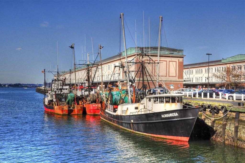 Boston Fish Pier