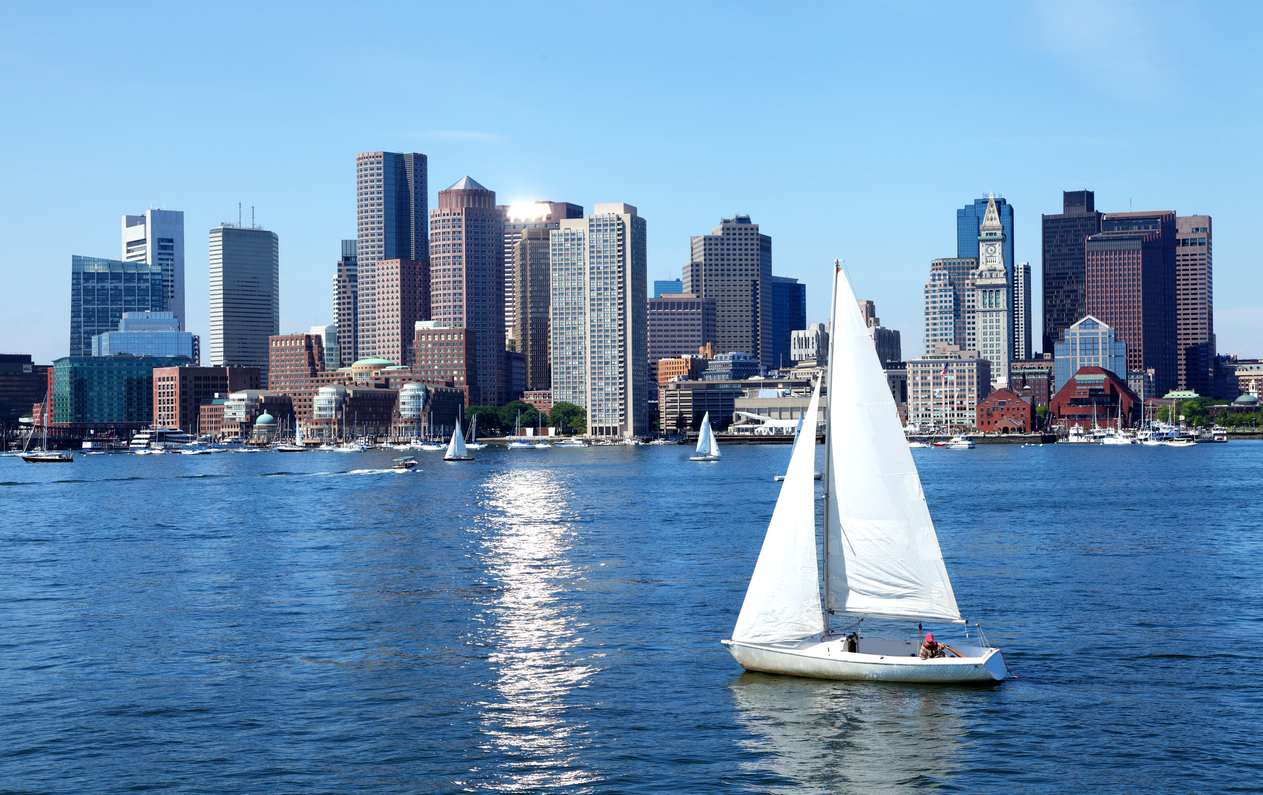 Boston Harbor - Working Harbor
