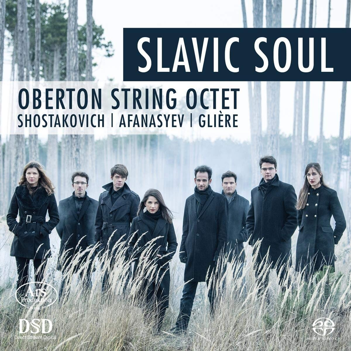 Slavic Soul Audio CD — Oberton String Octet