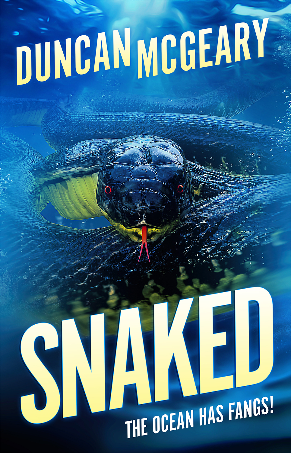 Snaked - Within the Juan de Fuca fault, monsters stir.A coastal town nestled just outside Seattle, Everett is a picture-perfect paradise, but the Indigenous myths tell of when the darkness came out of the ocean and killed everything, the world cleansed and begun anew. An unusual specimen washed up on the shore has Professors Charlie Wice and Carol Wheatley buzzing with excitement, but what the ocean has spat out is far more dangerous than either could imagine.As the darkness slithers closer, and the deaths start to mount, the residents of Everett and St Aloysius Island are locked in a battle against an enemy as implacable as they are numerous. As the earth shakes once again, another battle looms on the horizon – fast flowing and deadly. Who will survive when the ocean bares its fangs?