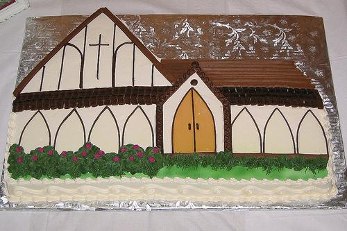 Fortieth anniversary cake