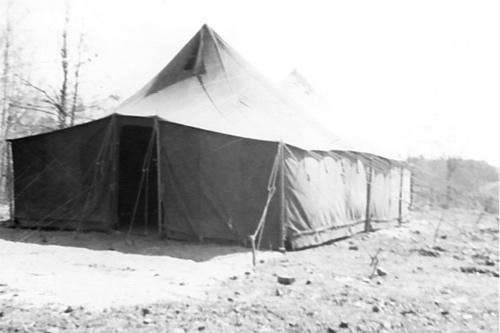 Rev. Pattillo's tent meetings