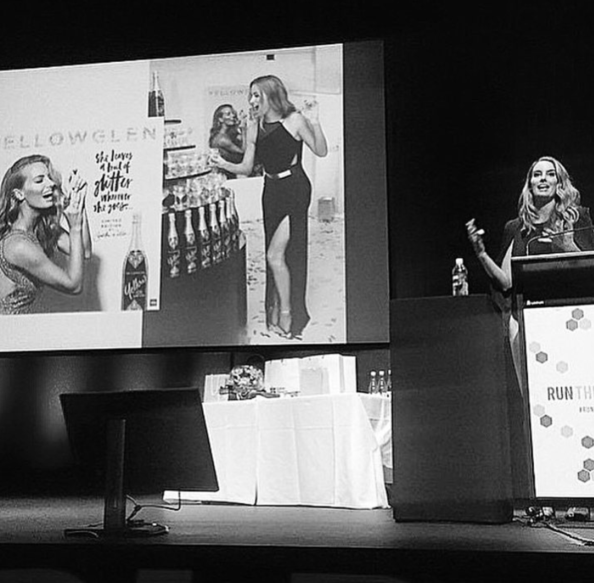 Samantha Wills Presenting as a keynote speaker at THE LEAGUE OF EXTRAORDINARY WOMEN, Brisbane Australia