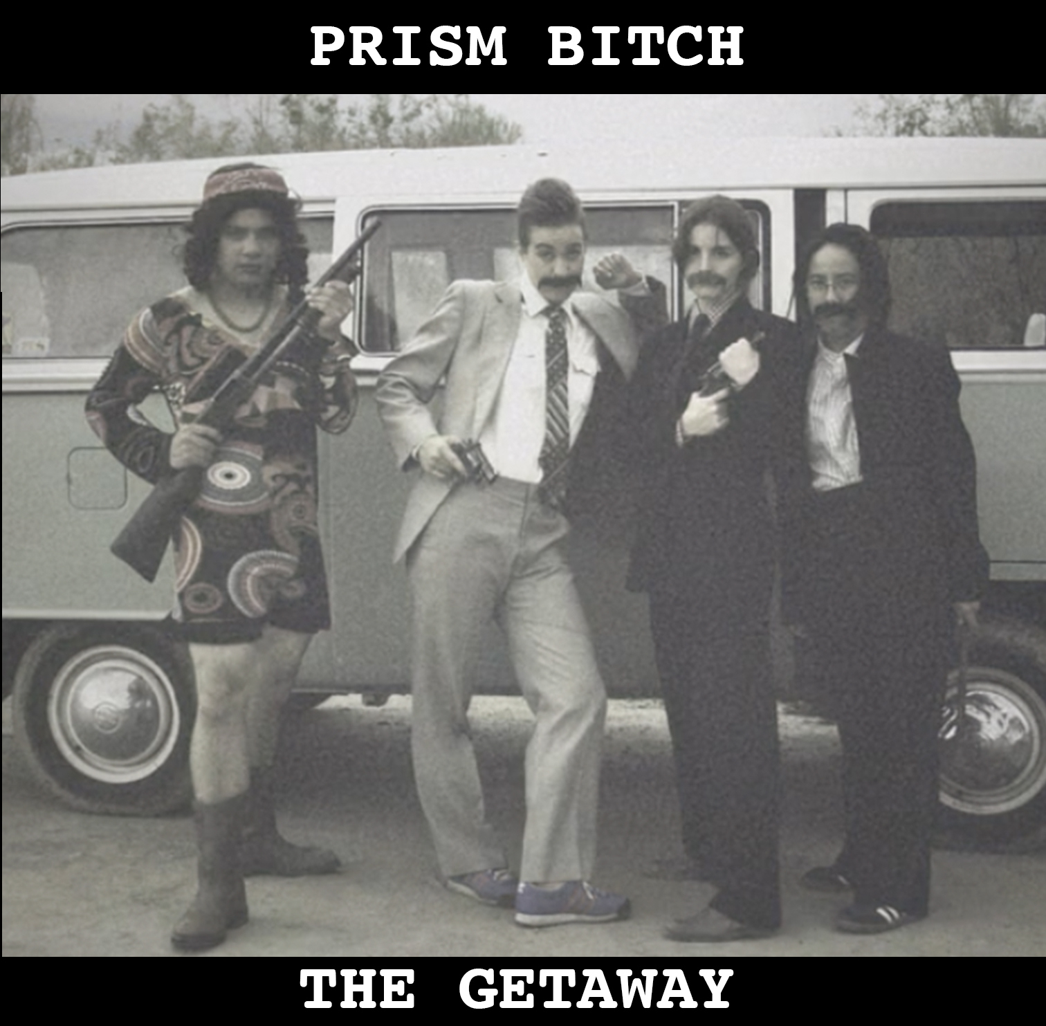 """The Getaway   """"The Getaway"""" was recorded at Push Drive Studios with Lee Sillery in Albuquerque, NM. Written and performed by Prism Bitch."""
