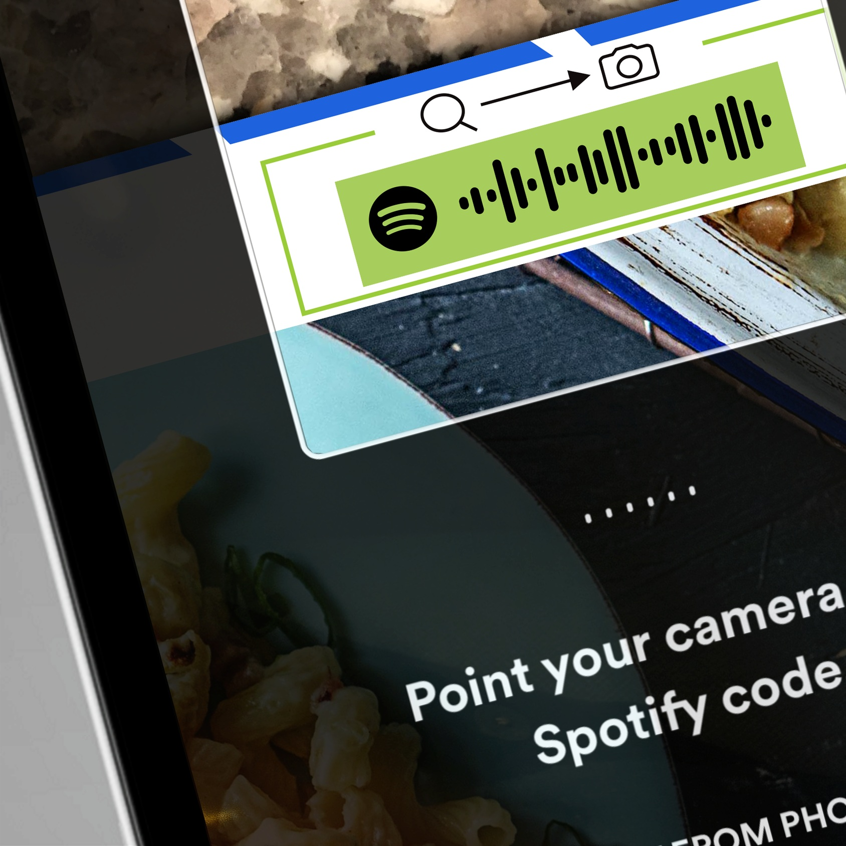 """Spotify Codes"" is a simple and robust, but underutilized, feature."