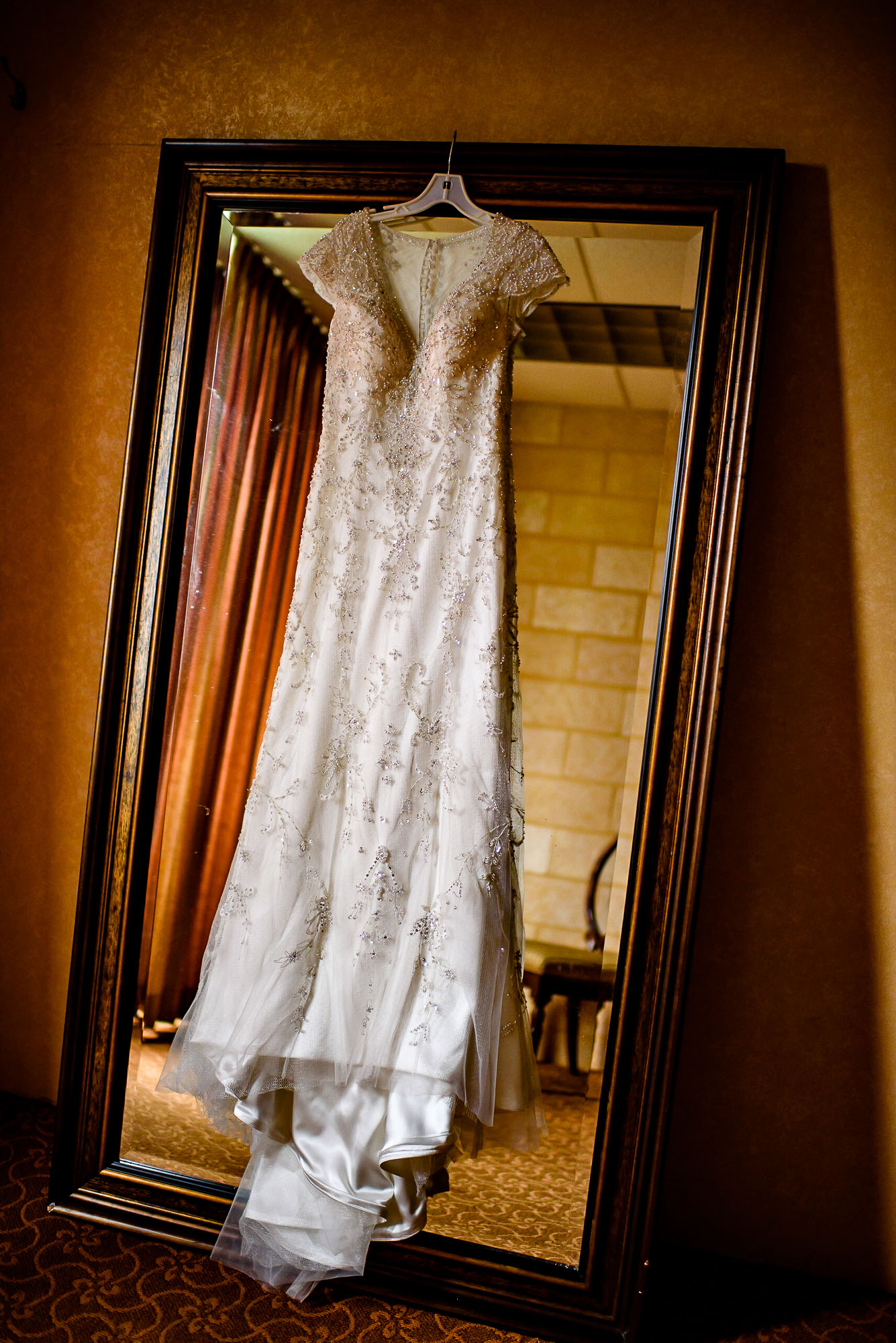 The Sephardic Temple wedding dress