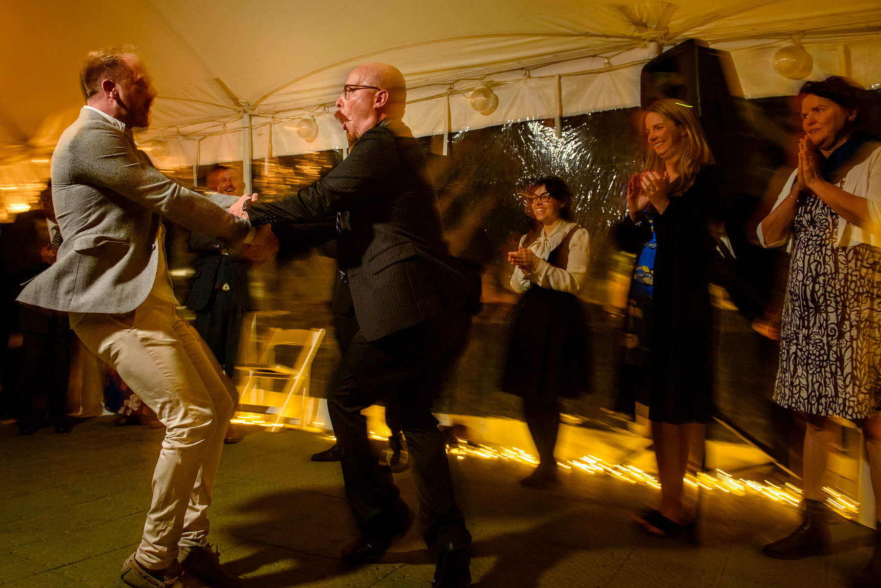 Onderdonk House Wedding receptoin dance