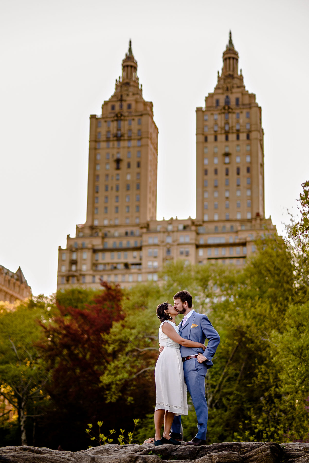 Central Park NYC Wedding  The Eldorado view