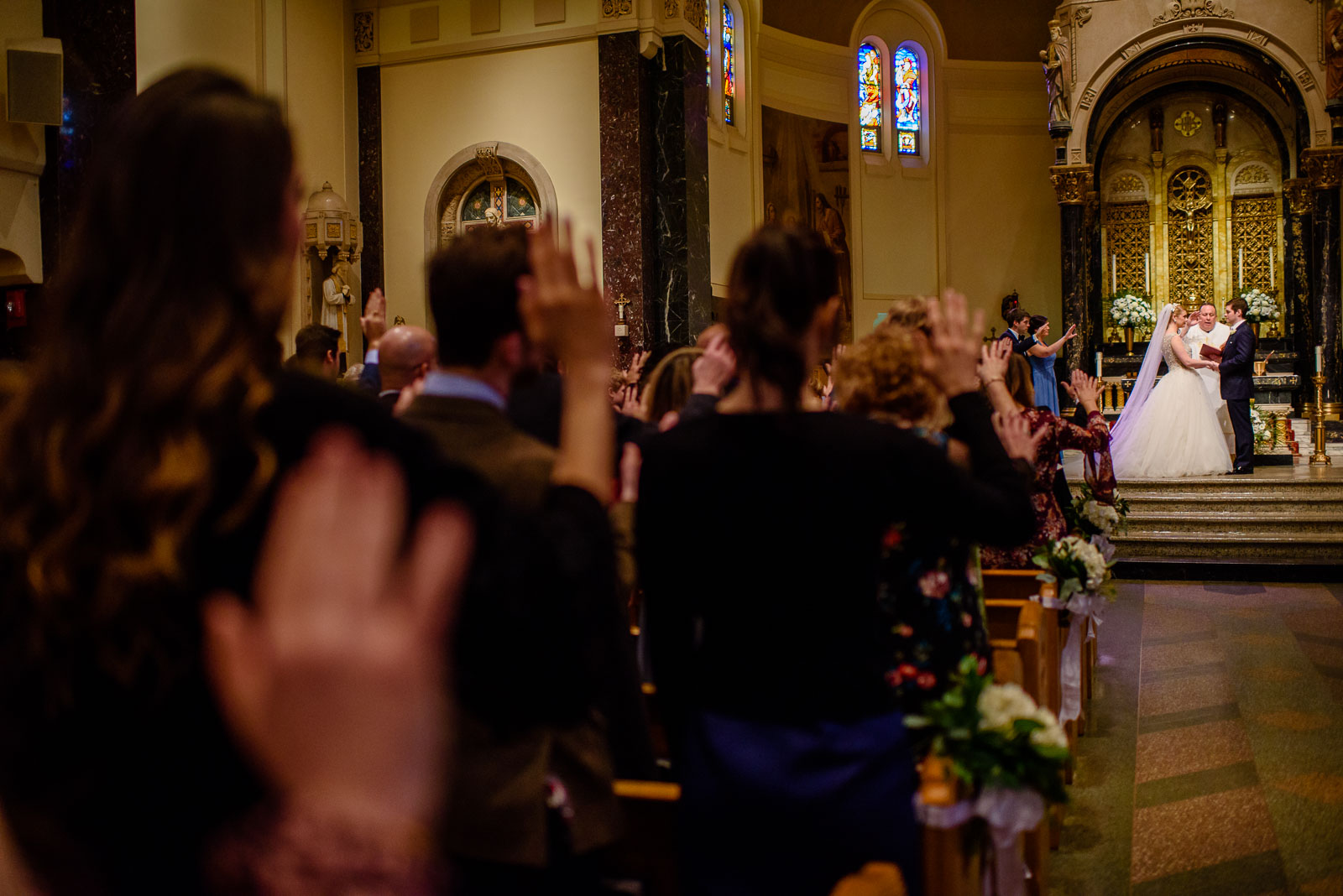 NYIT de Seversky Mansion Wedding ceremony prayer
