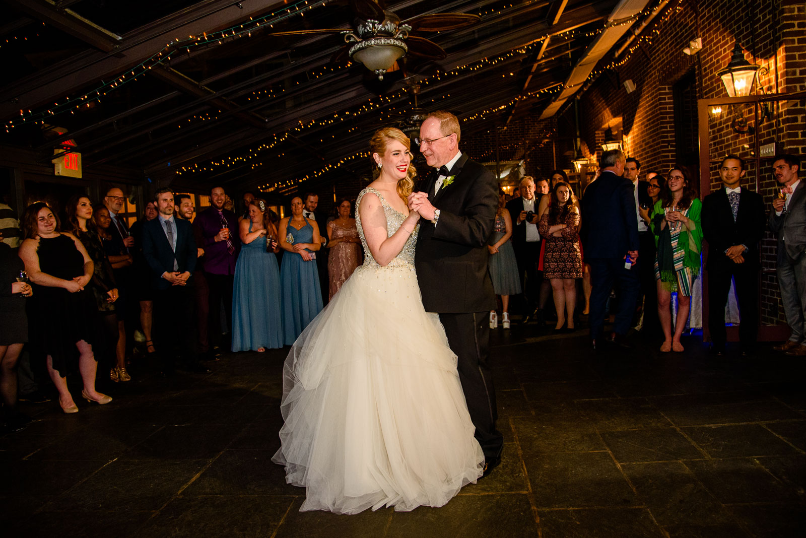 NYIT de Seversky Mansion Wedding father-daughter dance