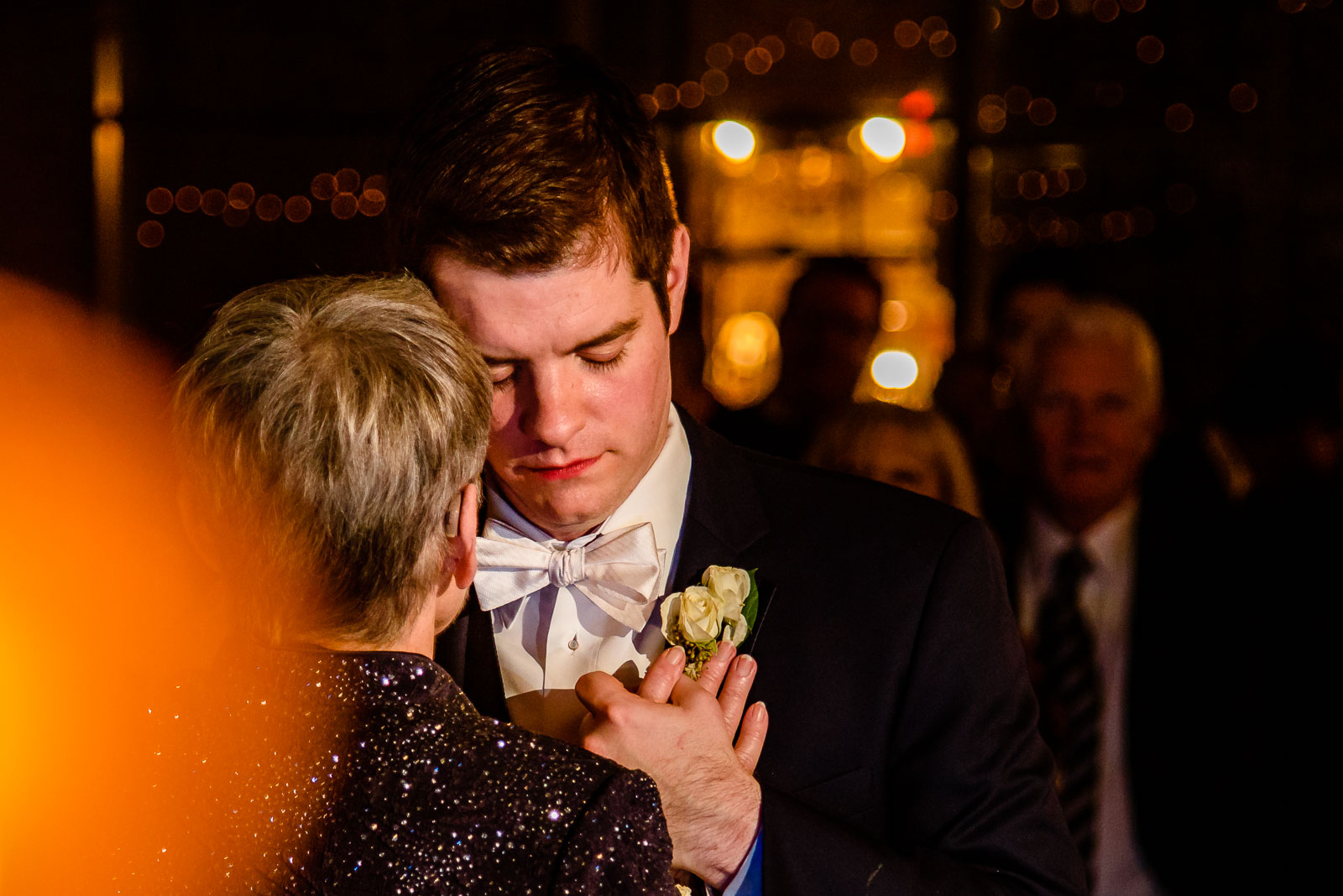 NYIT de Seversky Mansion Wedding mother-son dance