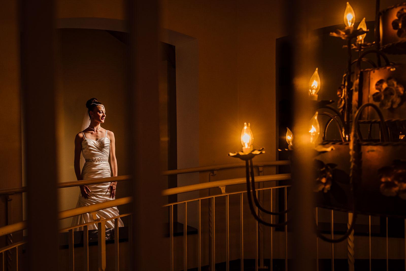 Douglaston Manor Wedding Bride's Portrait