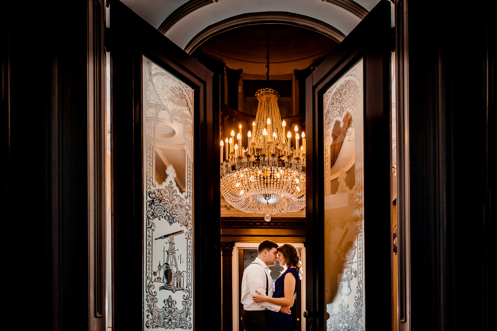 Steinway Mansion Engagement Session