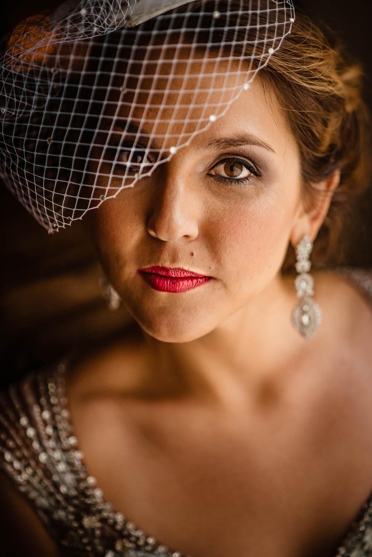 Brooklyn Winery wedding bride portrait