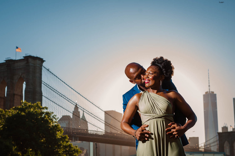 Dumbo Brooklyn Bridge  Engagement