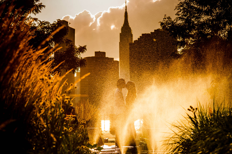 Gantry Plaza state park engagement