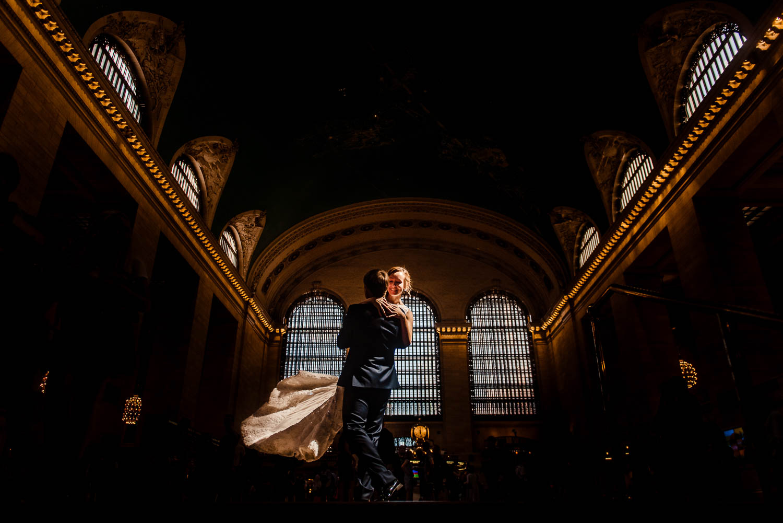 Grand Central Wedding