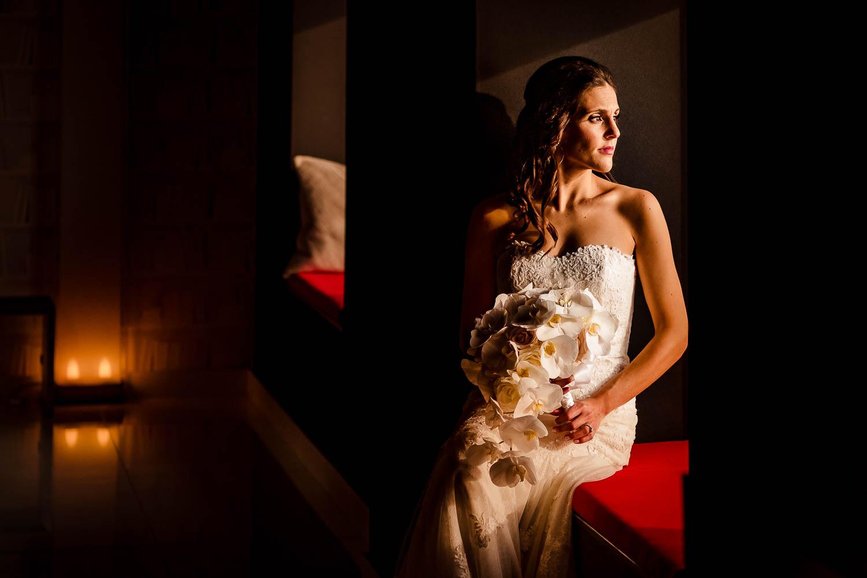 NYC Beautiful Bride wedding portrait