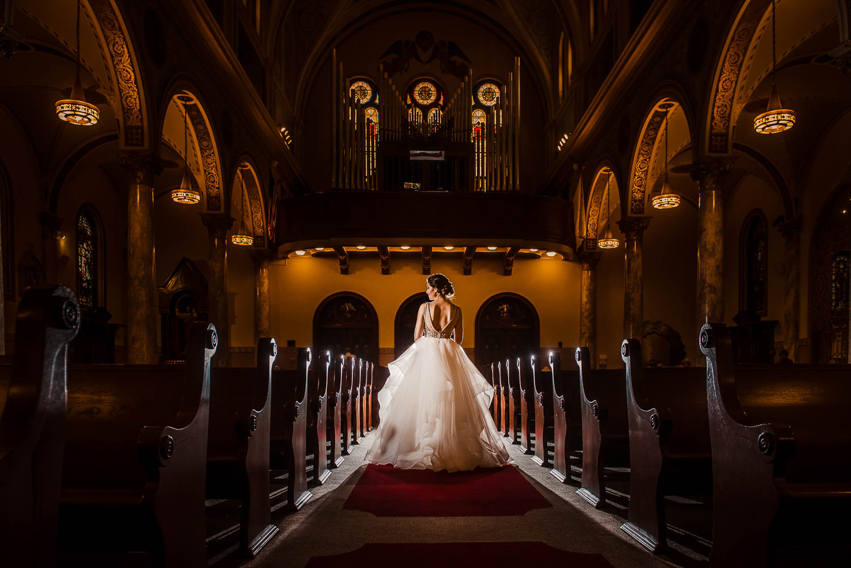 Sacred Heart Church Yonkers Wedding