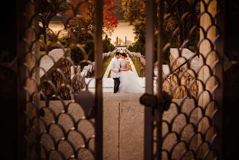 Untermyer Gardens Wedding portrait