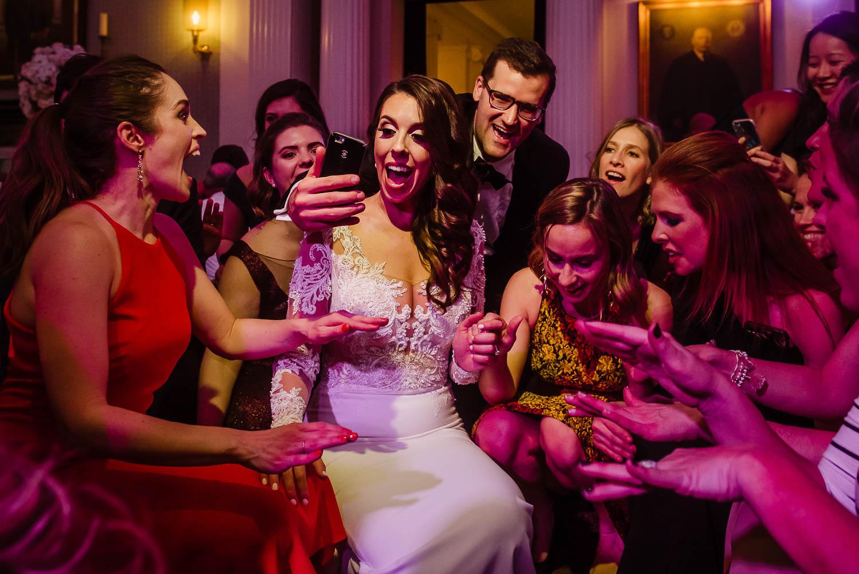 Yale Club Wedding reception