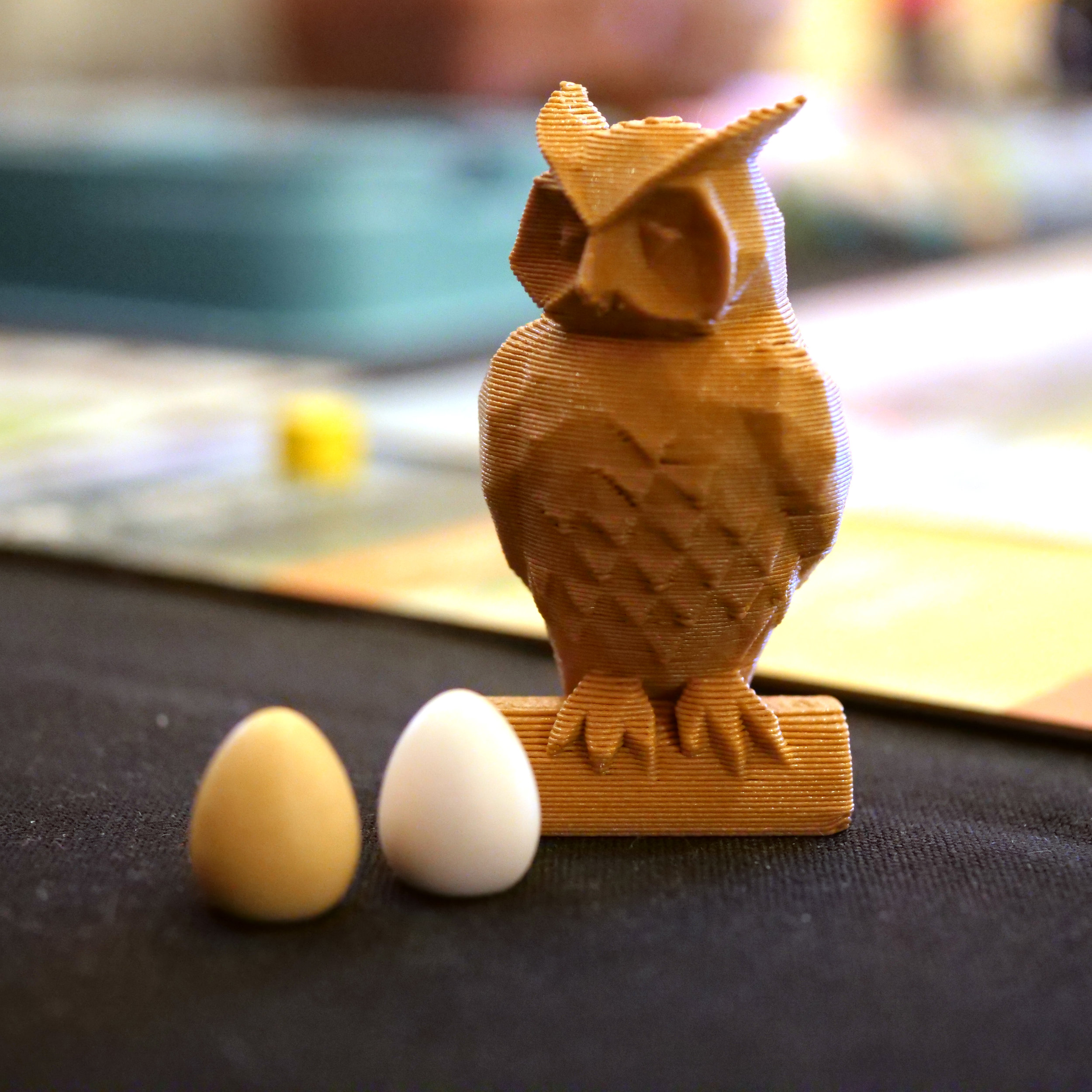 You can print your own 3d Owl here.