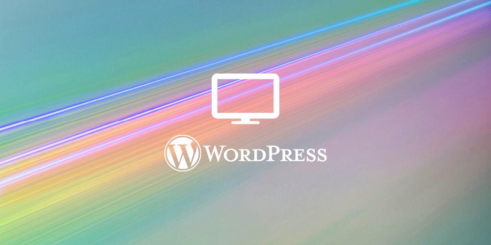 WordPress website -