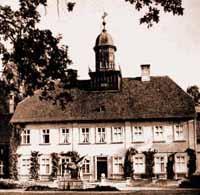 The main castle of Trakehnen.