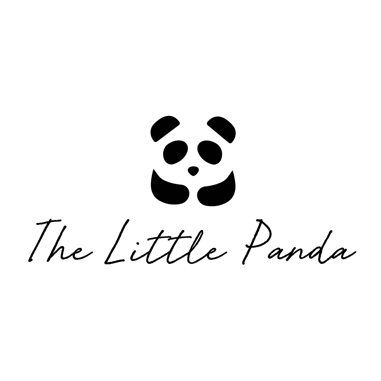 The Little Panda Hand-Designed Logo