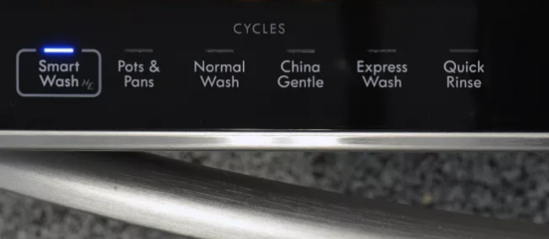 "many dishwashers have the feature of ""smart wash"" - which uses less water and is a great energy saving feature."