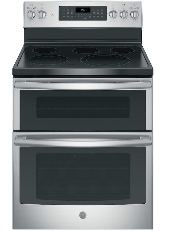 "GE® 30"" Electric Double Oven Convection Range  is a popular freestanding range. available in several colors, what more can you ask for?"