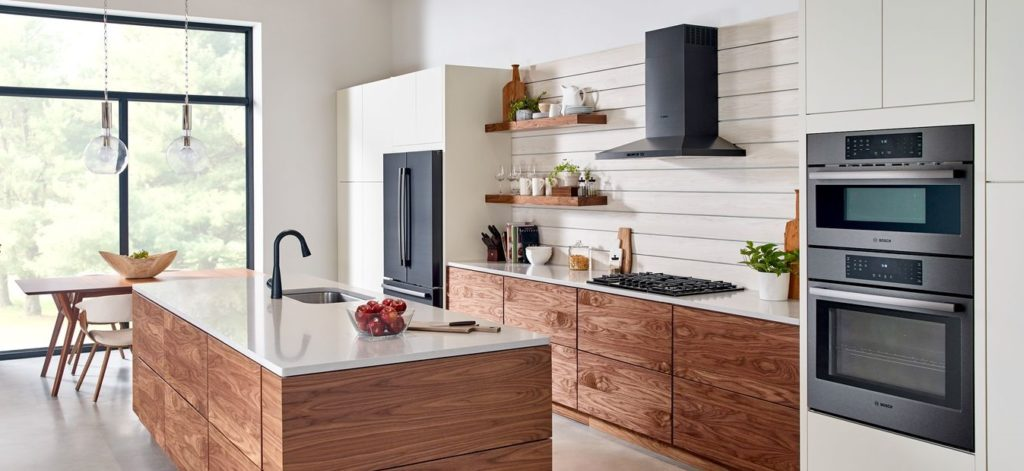 BOSCH's black stainless steel collection  guards against scratches and fingerprints.