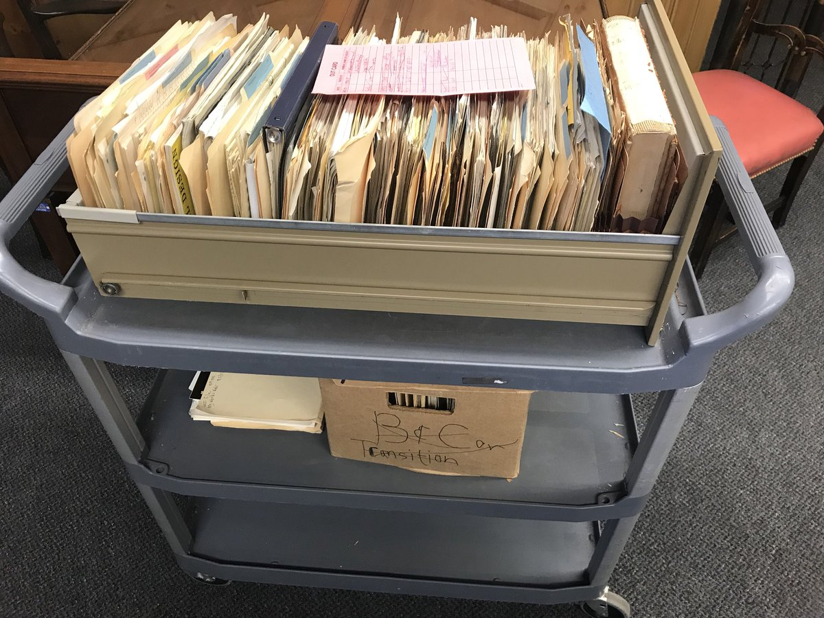 """Conducting a thorough research of the Illinois Pavilion and """"Great Moments with Mr. Lincoln"""" at the Illinois State Archives in Springfield."""