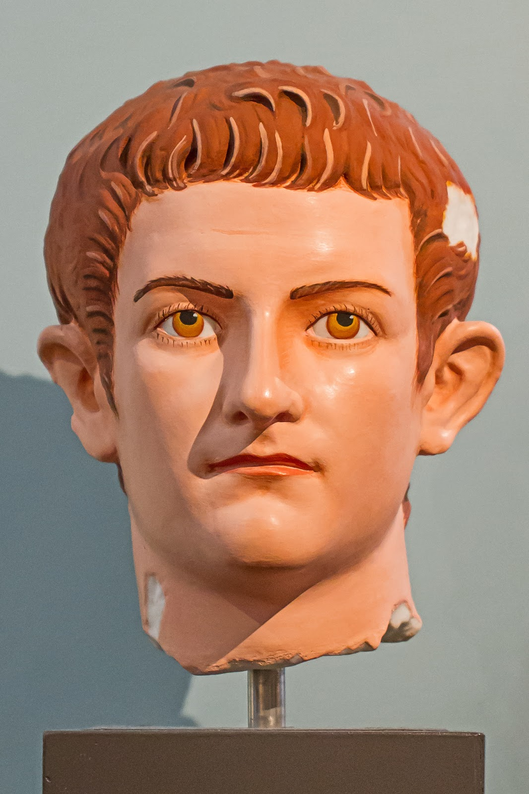 A bust of Emperor Caligula