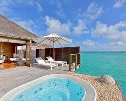 Water Villa at the Conrad Maldives.