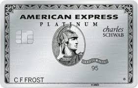 Charles Schwab American Express Platinum Card